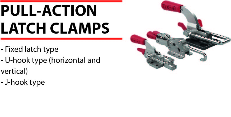 Destaco pull action clamps for Pull it off definition